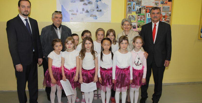 Návštěva Iriny Bokové v ZŠ Lupáčova