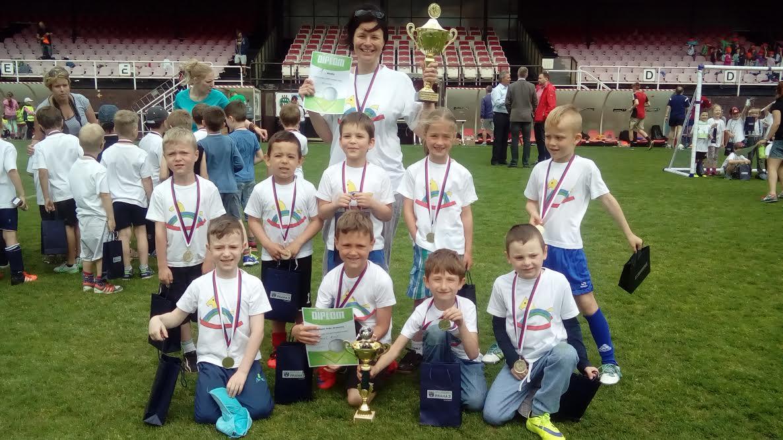 Fotbalový svátek v MŠ Pražačka