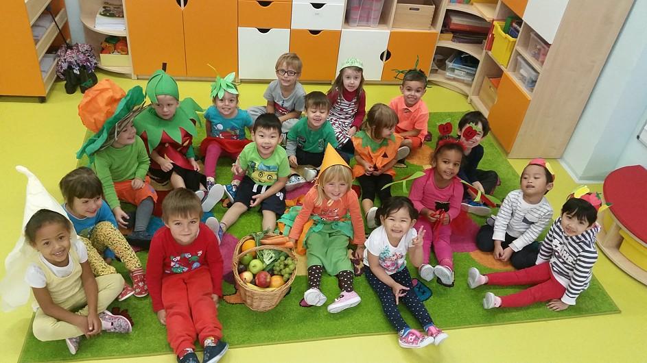 Projektový ovocnozeleninový den na ZŠ a MŠ J. Seiferta