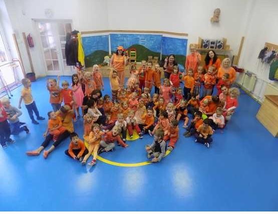 Barevné dny a podzim v mateřské škole Milíčův dům