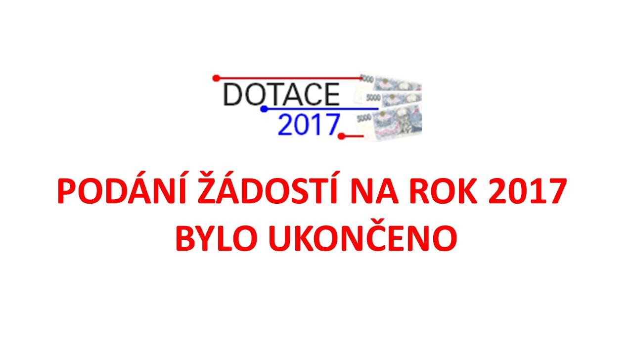 Dotace 2017