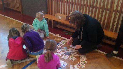Barevný den s předškoláky