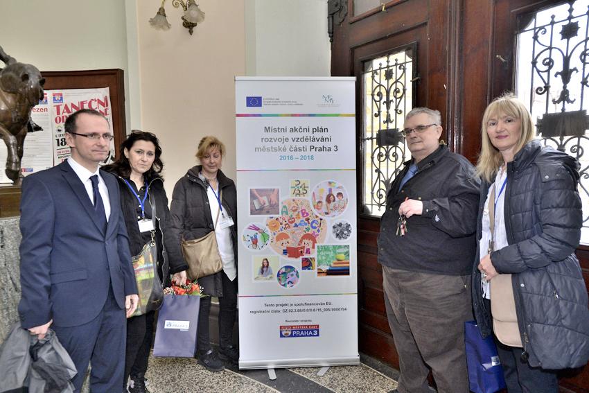Učitelky ze Splitu získávají zkušenosti na Praze 3 v rámci projektu Erasmus+