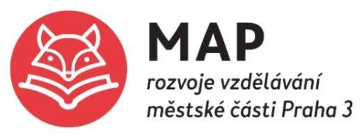 Logo MAP červené s textem