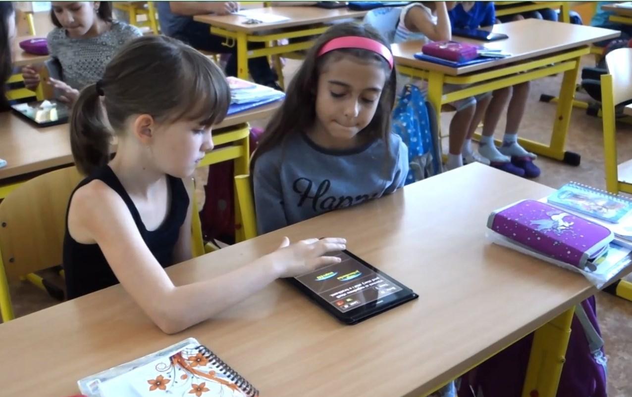Výuka na interaktivní tabuli a tabletu 3.A – příklad dobré praxe – digitální technologie