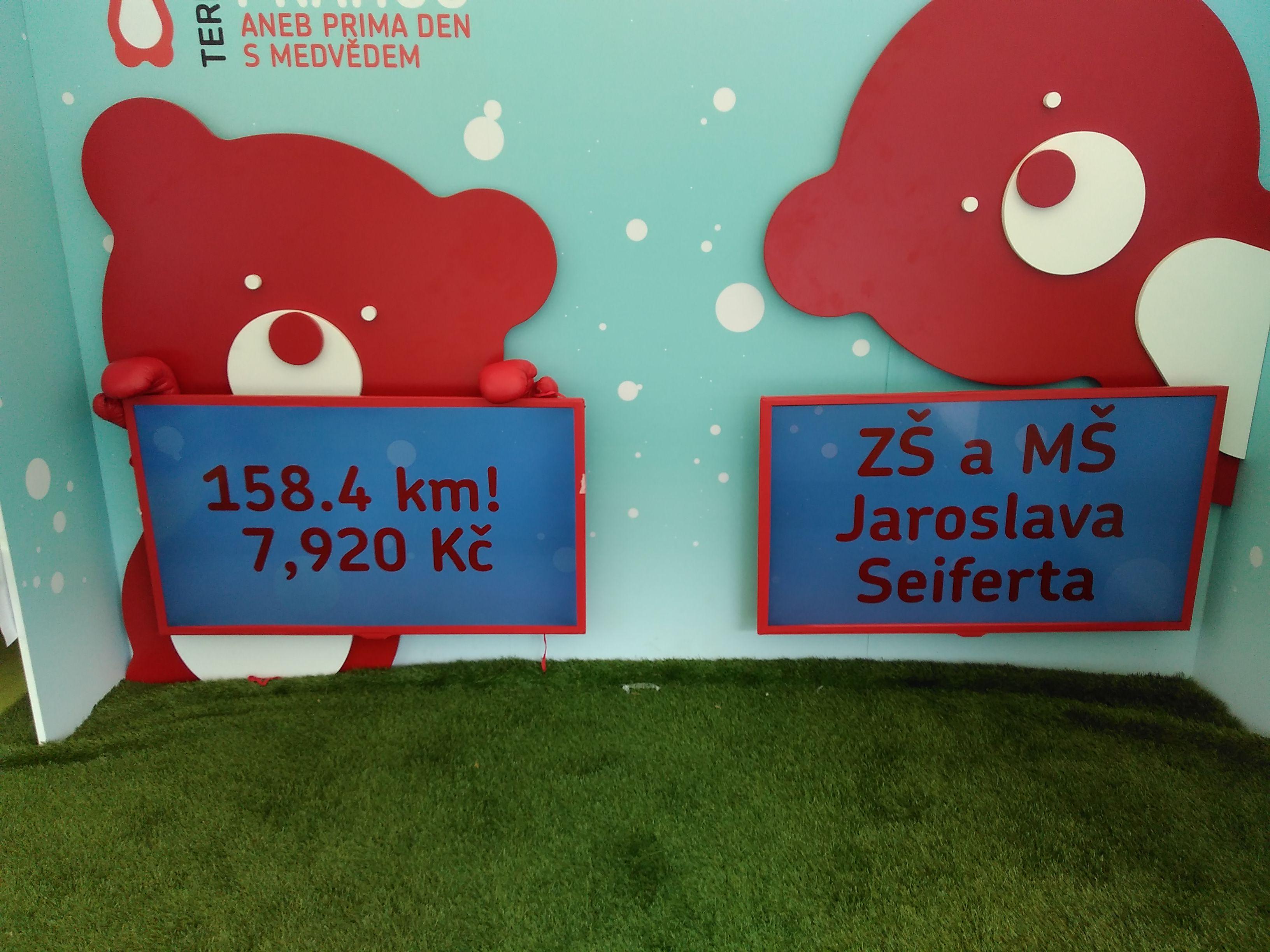 Běh TERIBEAR na Vítkově – ZŠ a MŠ J. Seiferta