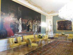 Přijímací salón na Pražském Hradě