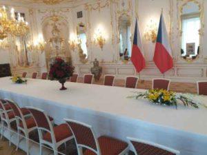 Zrcadlový salón na Pražském Hradě