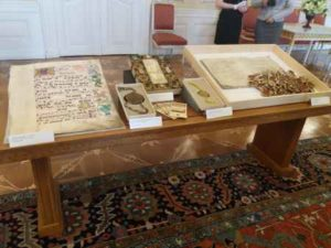 Faksimile historických listin
