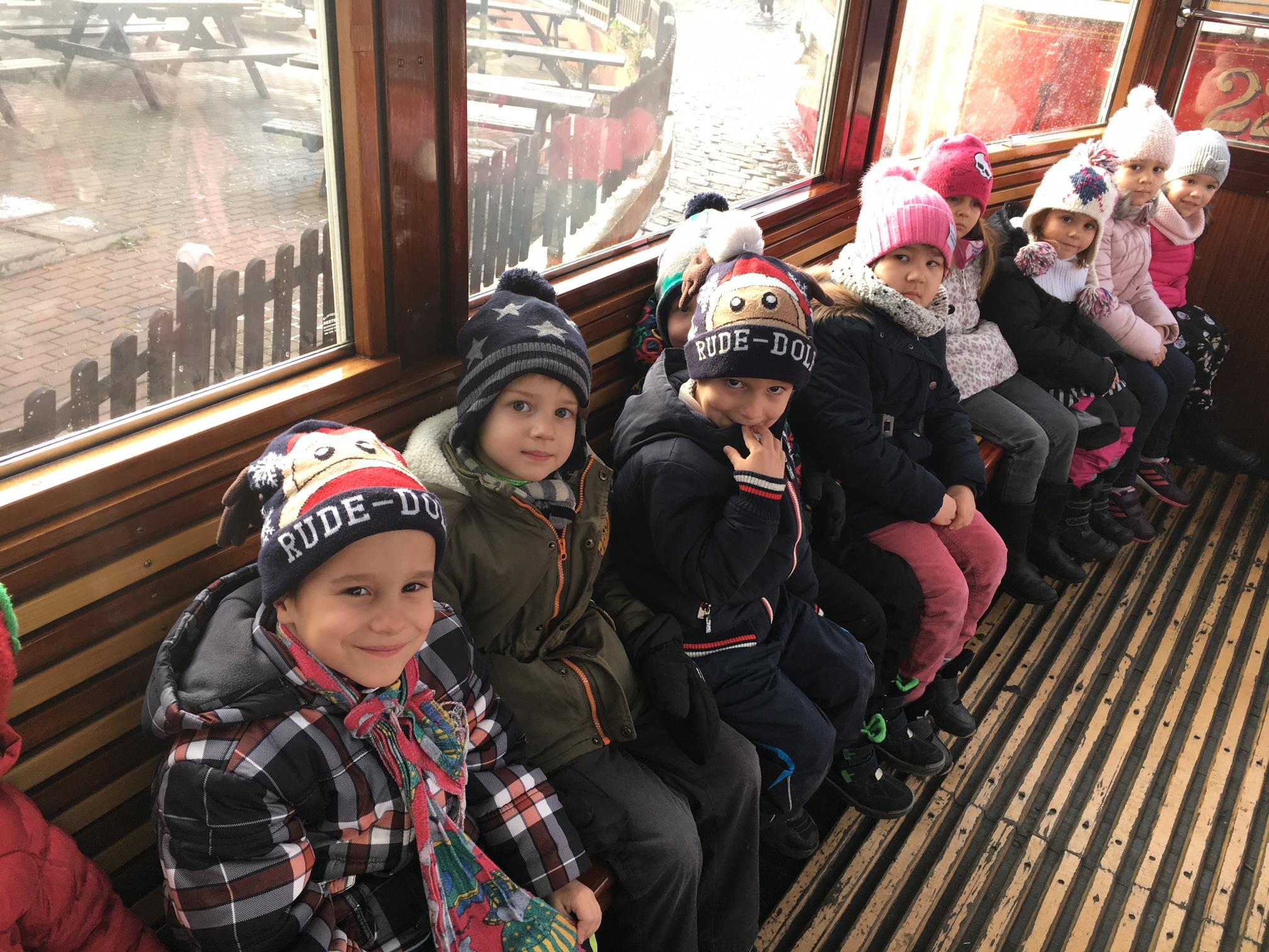 Mikulášská tramvaj v MŠ Libická