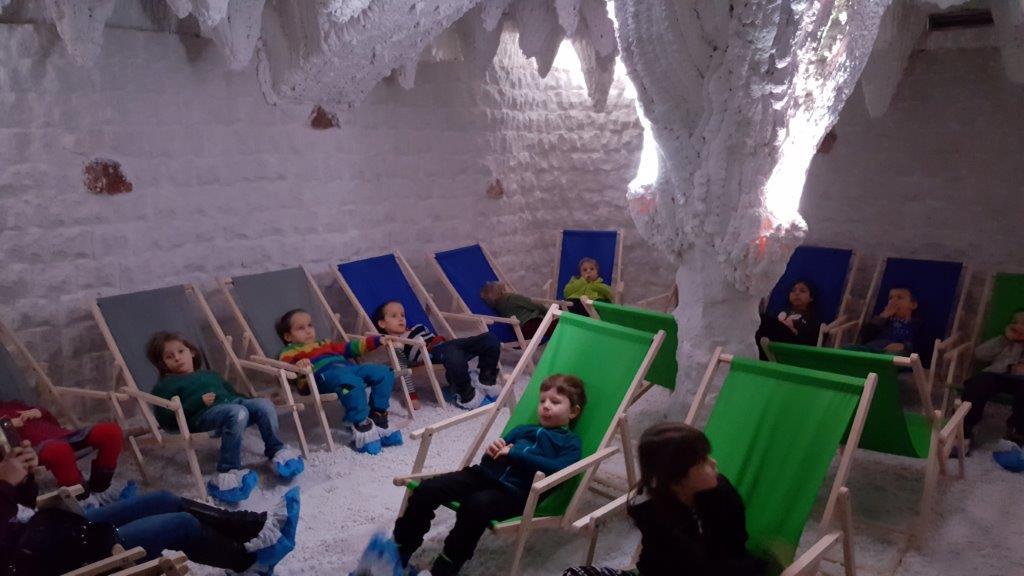 Mateřská škola Libická – Návštěvy v solné jeskyni