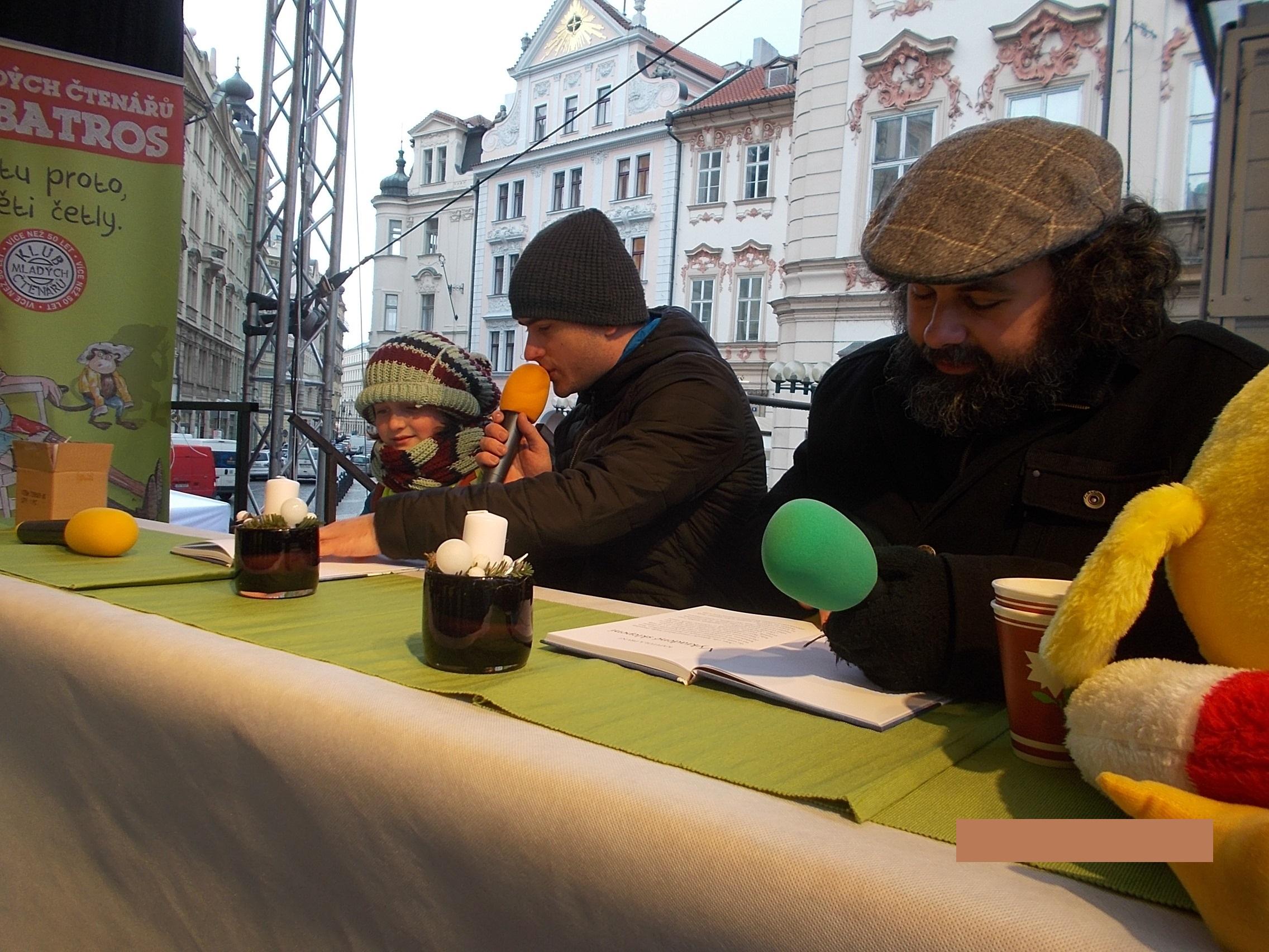 Třeťáci ze ZŠ Jarov na čtecím maratonu