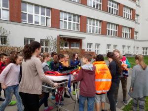 Dny pro záchranu života na ZŠ Pražačka