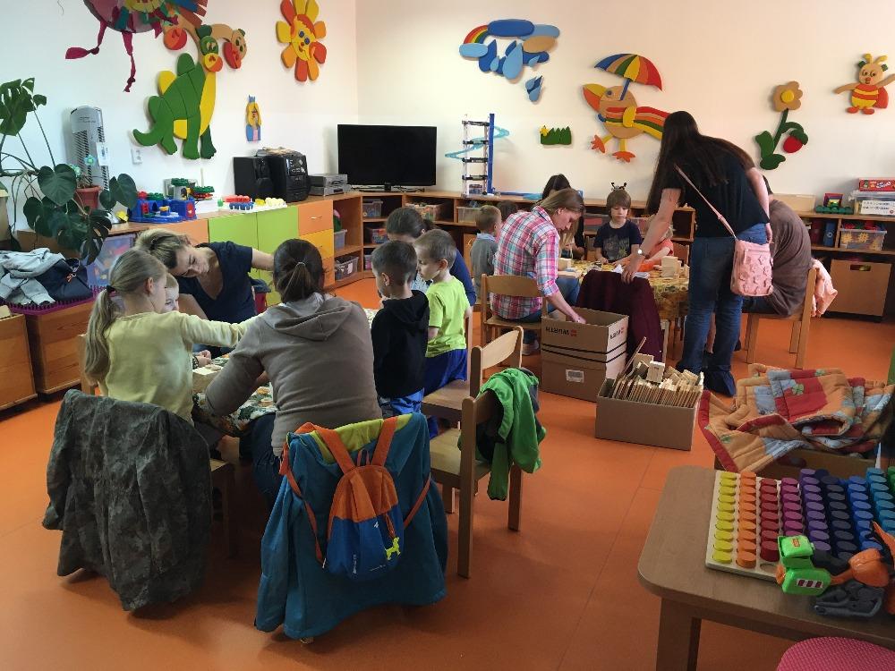 Tvořivá dílna s dětmi a rodiči na MŠ Jeseniova 204