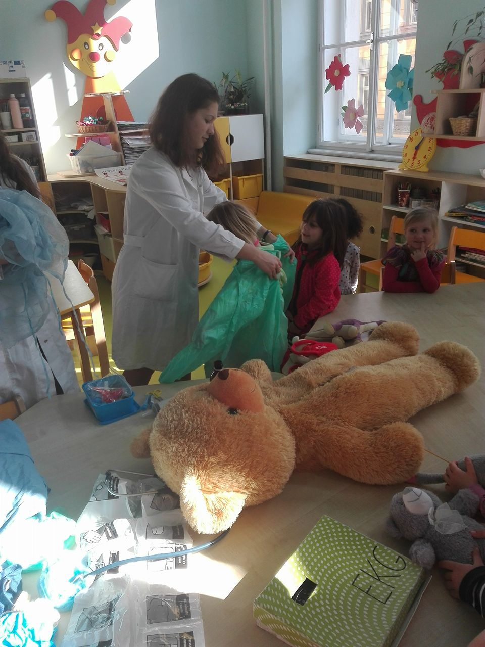 Projekt Medvídkova nemocnice v MŠ J. Seiferta