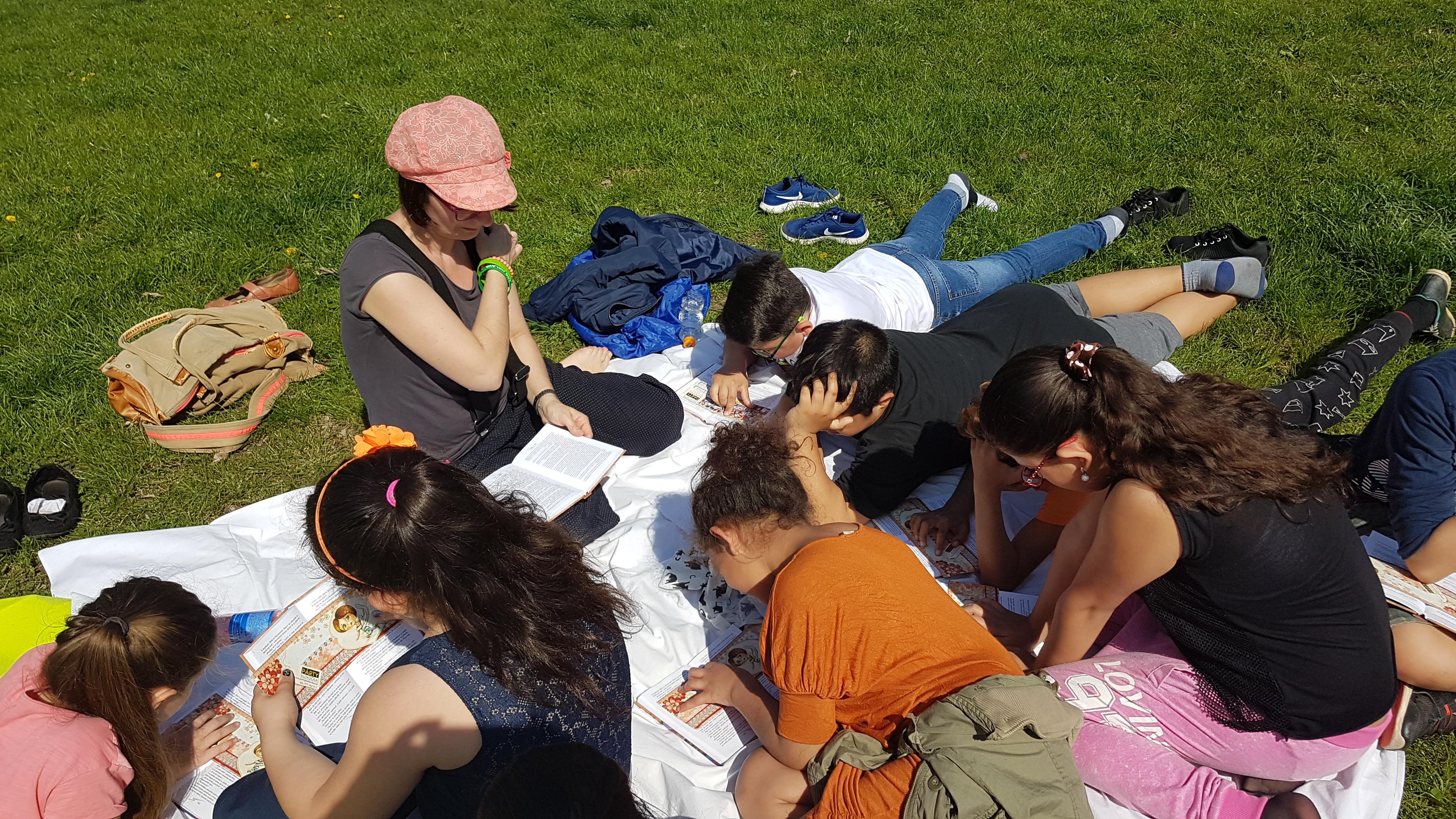 Čtení pod modrým nebem na ZŠ Cimburkova (MAP priorita 2)