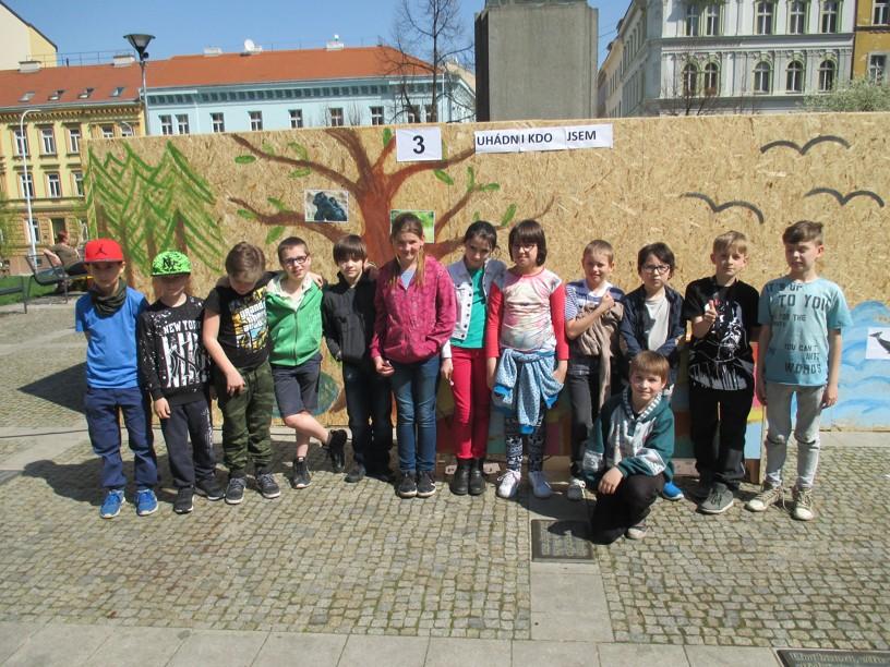 Den Země – žáci ZŠ J. Seiferta