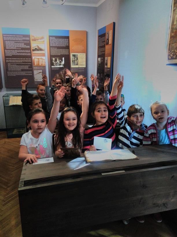Pedagogické muzeum – žáci ze ZŠ J. Seiferta