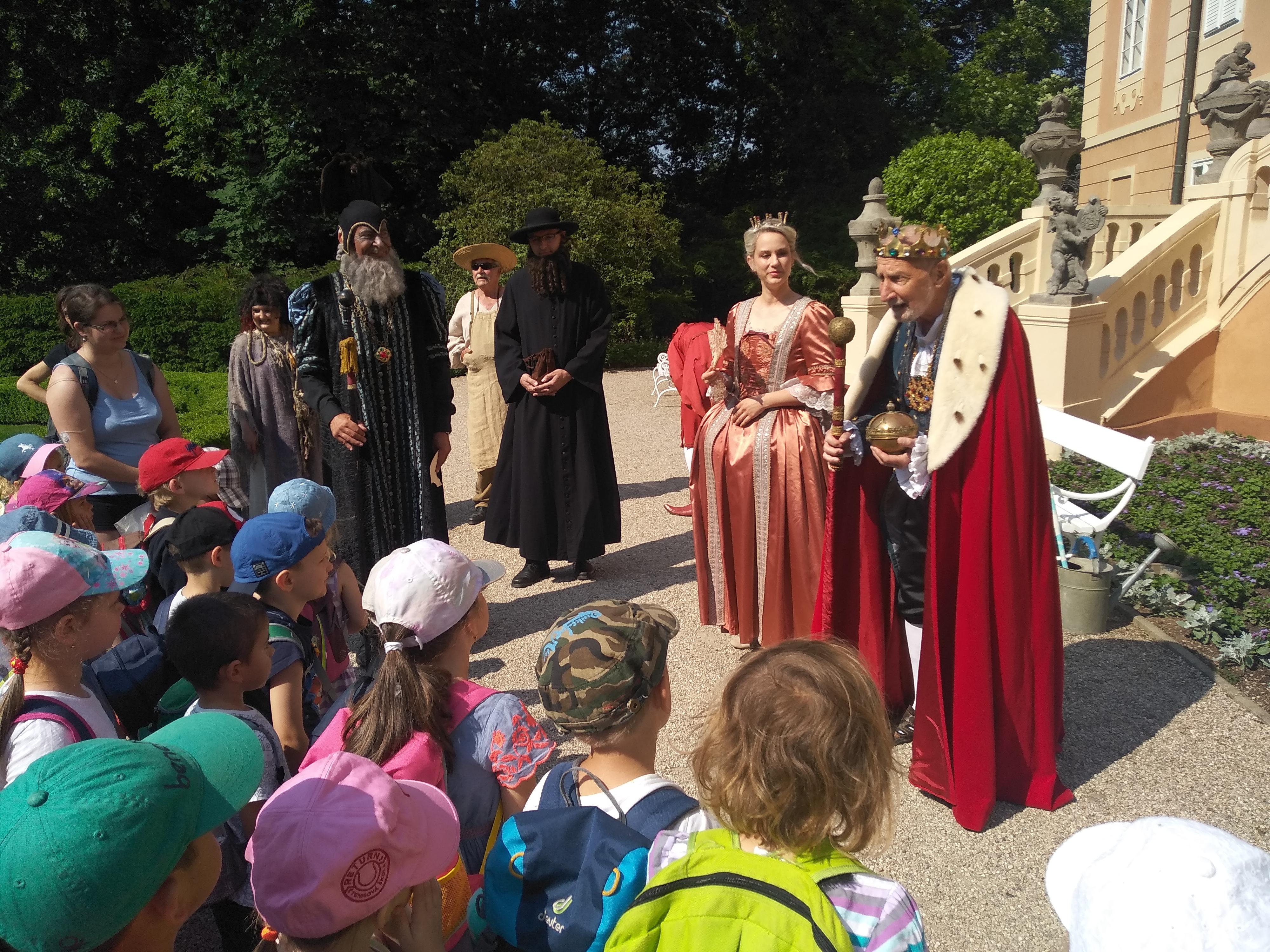 Den dětí – Milíčův dům slaví na zámku Štiřín