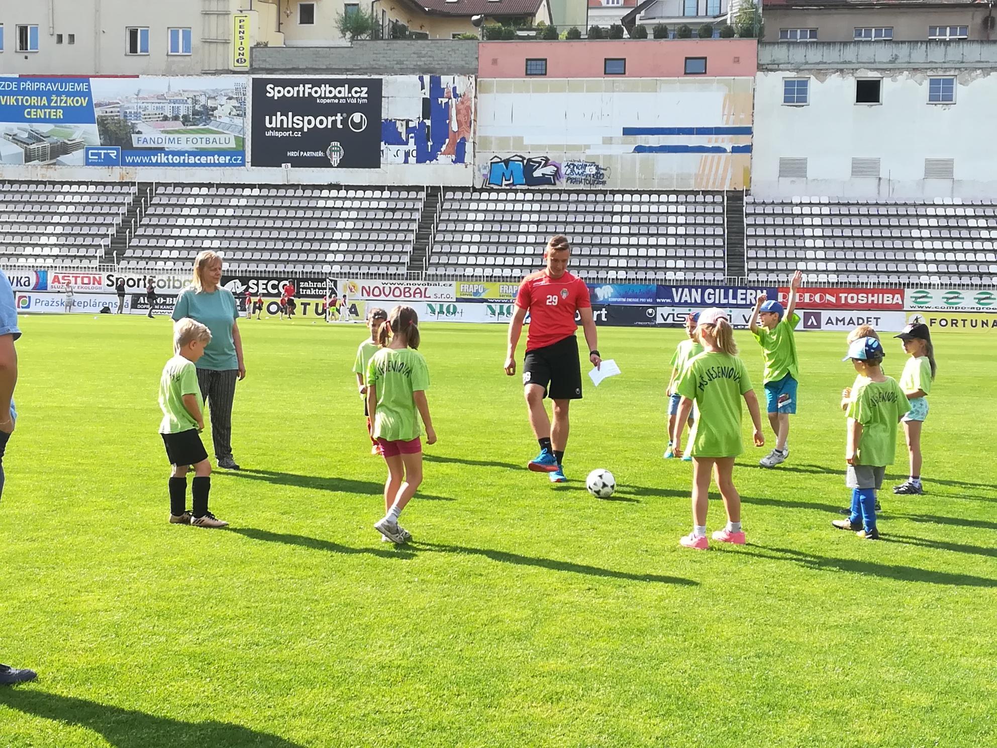 Malí fotbalisté z Jeseninky