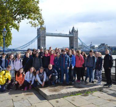 ZŠ Chmelnice – jazykově poznávací zájezd do Anglie