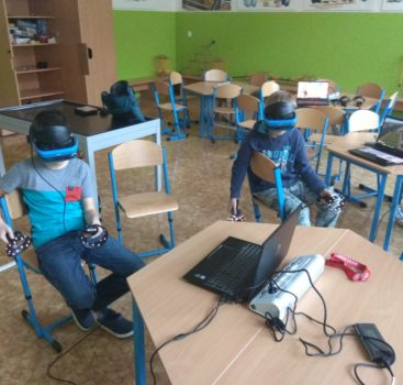 Kroužek virtuální reality na ZŠ J. Seiferta