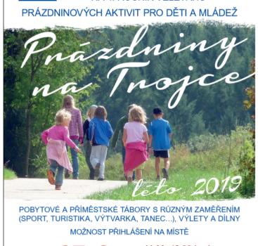 4. ročník veletrhu Prázdniny na Trojce – Program