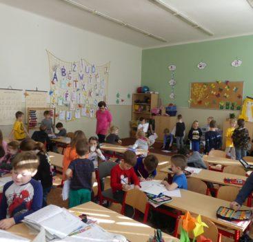 Barevný den pro předškoláky z MŠ Pražačka