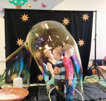 Bublinkovo – balónková show v MŠ Třebešín