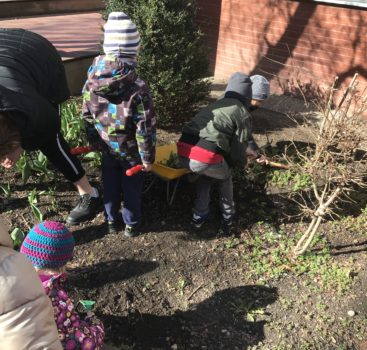 Hurá znovu na zahradu v MŠ VOZOVÁ 5