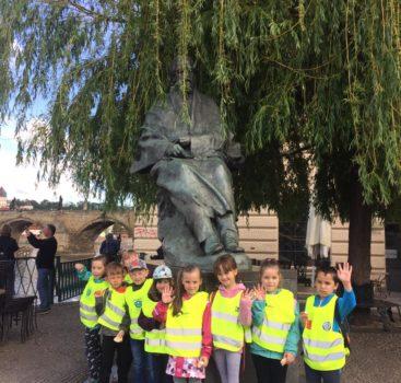 Návštěva dětí z MŠ Lobkovicova v muzeu hudby Bedřicha Smetany a procházka Prahou