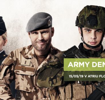 Army den v Atriu Flora – nabídka pro školy