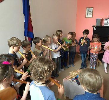 Koncert dětí Waldorfské MŠ pro seniory