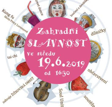 Zahradní slavnost ZŠ Lobkovicovo