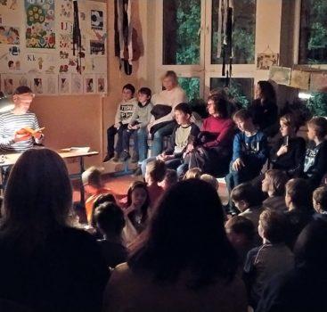ZŠ Chmelnice – 5.ročník Martinského čtení