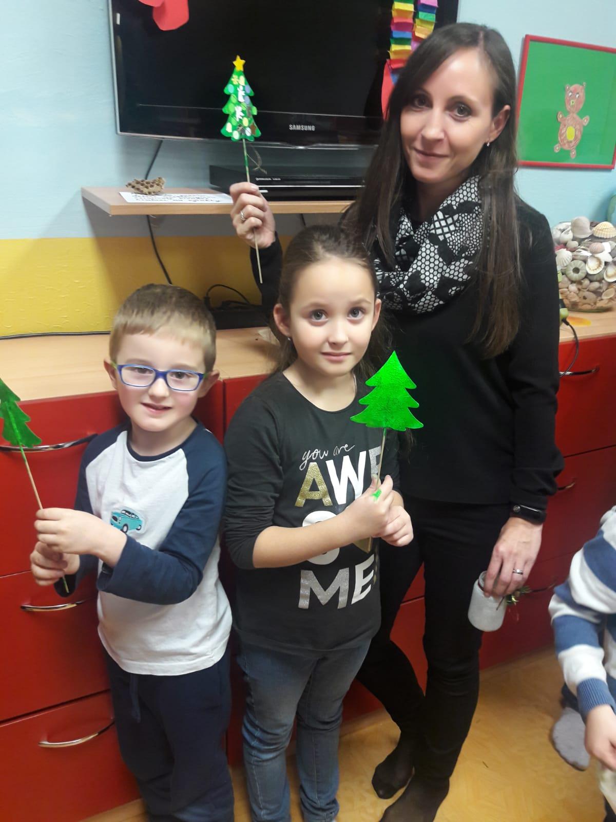 """""""Společné adventní dílničky"""" a """"Vánoční jarmark"""" na MŠ Lobkovicova"""