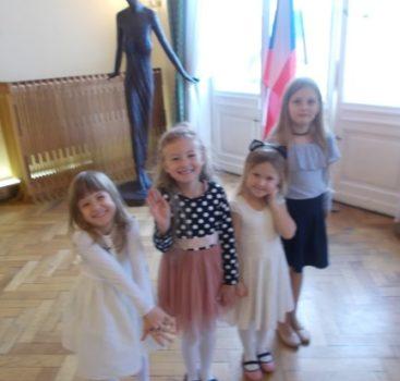 Děti z MŠ J. Seiferta vítají nové občánky