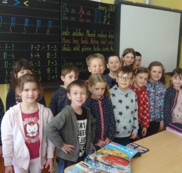 Děti z MŠ Na Balkáně se těší do školy